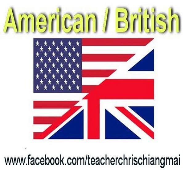 British v American