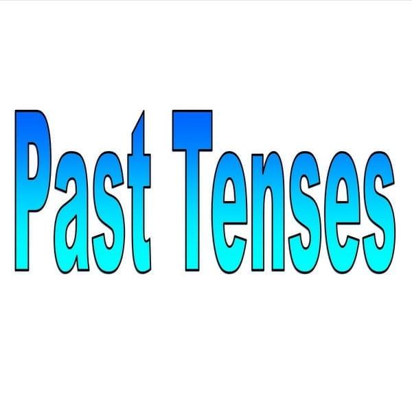 5 Past tenses