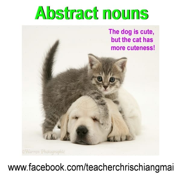 Abstract nouns ความ + คำคุณศัพท์