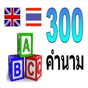 300 nouns 600 600