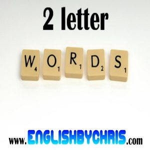 2 lettered words