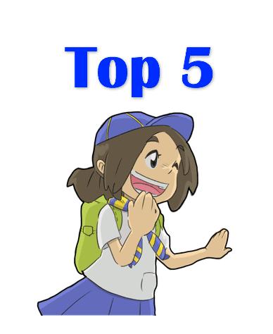 Top 5 Phrases