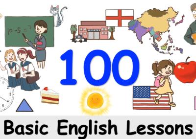 100 บทเรียนผู้เริ่มต้น English