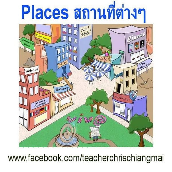 Places สถานที่